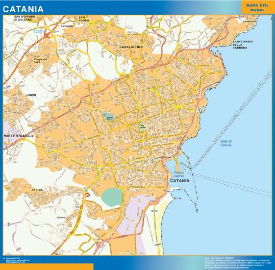 carte catania