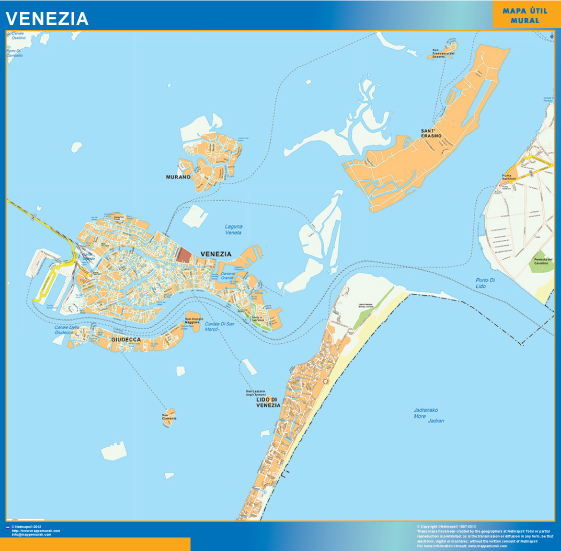 carte venecia