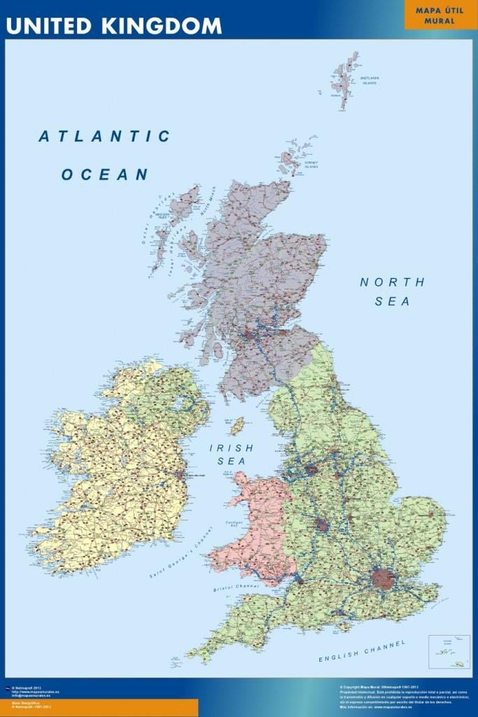 Carte Royaume-Uni