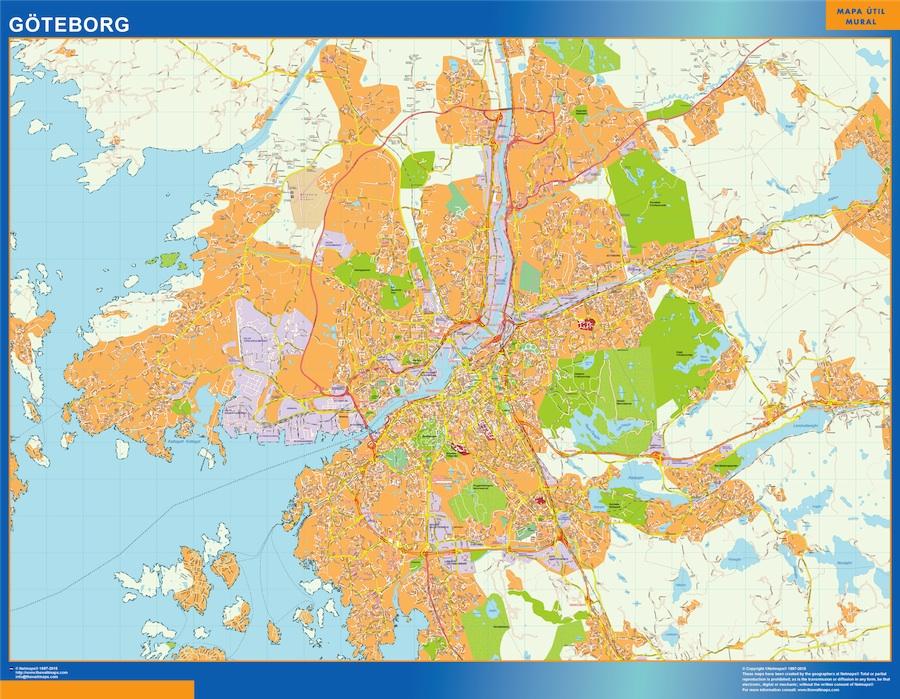 carte Goteborg