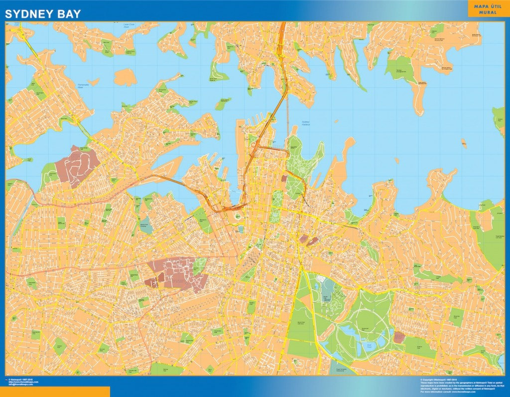 Sydney Bay carte