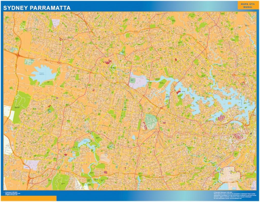 Sydney Parramatta carte