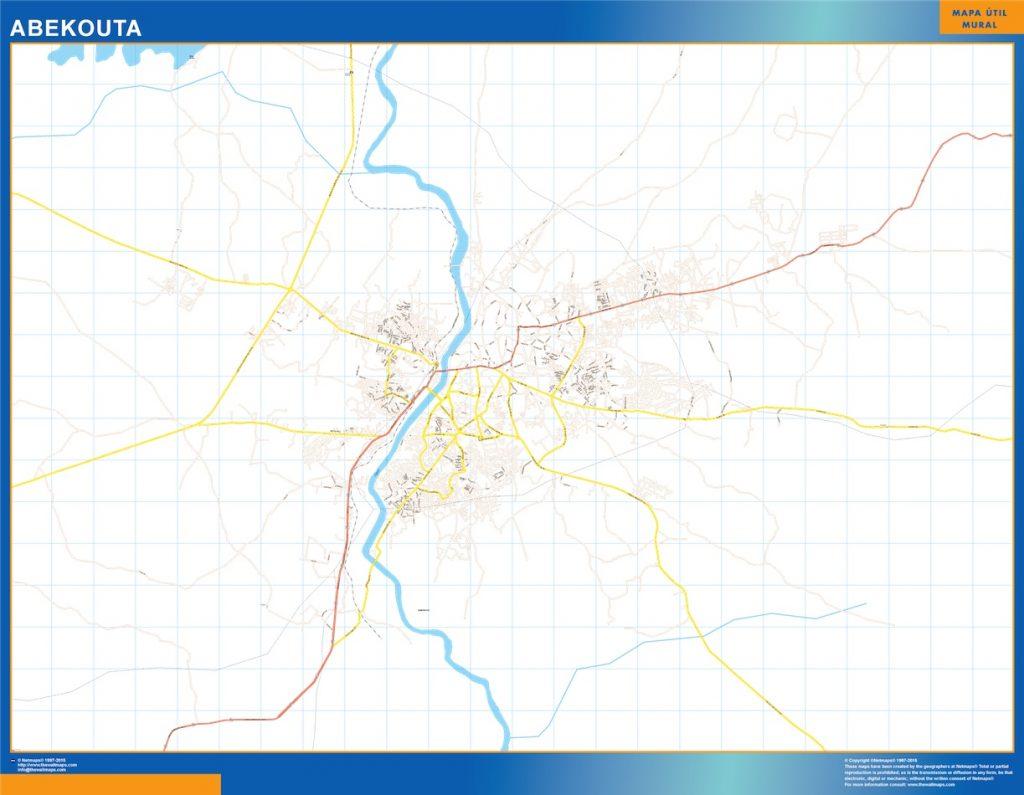 Carte urbaine Abekouta
