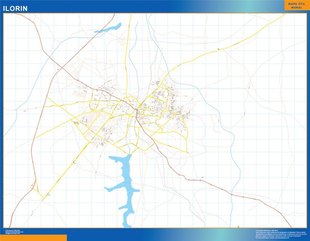 Carte urbaine Ilorin