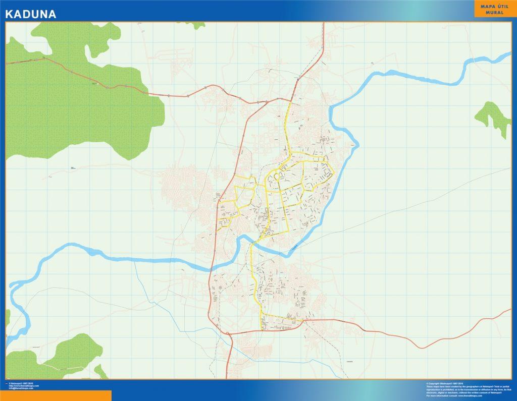 Carte urbaine Kaduna