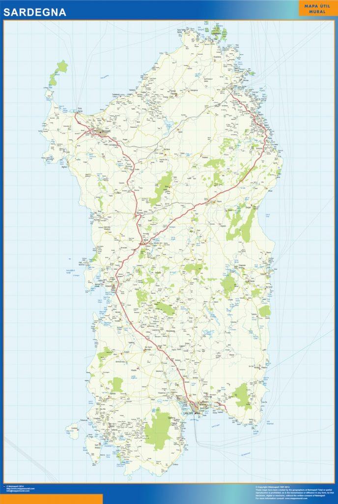 Carte Sardegna Italie