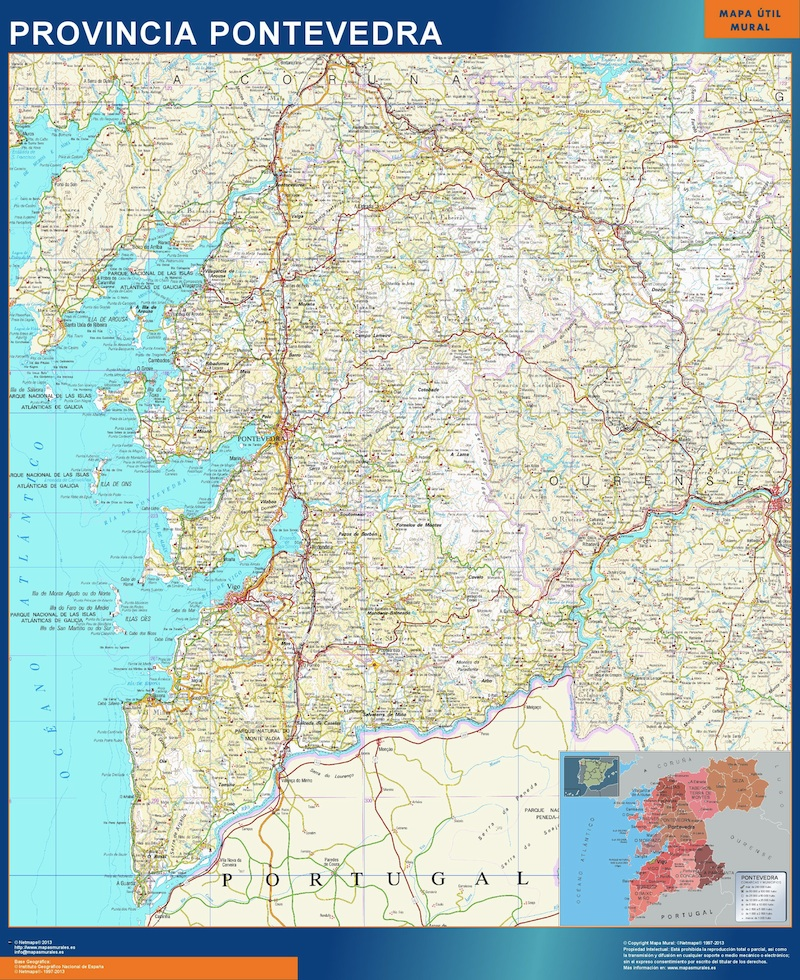 Province Pontevedra Espagne
