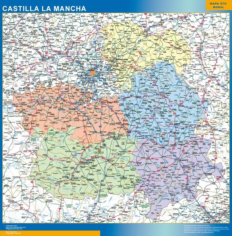 Carte Castilla La Mancha