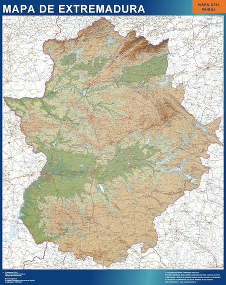 Carte Extremadura