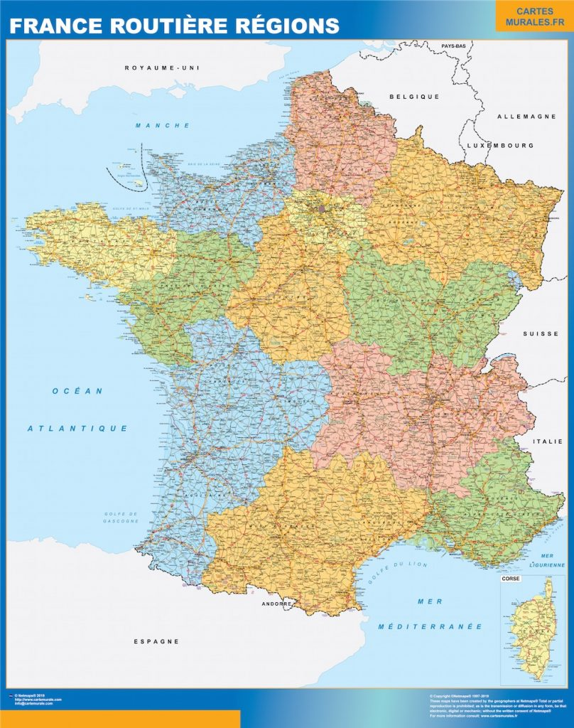 Carte France Routiere Regions